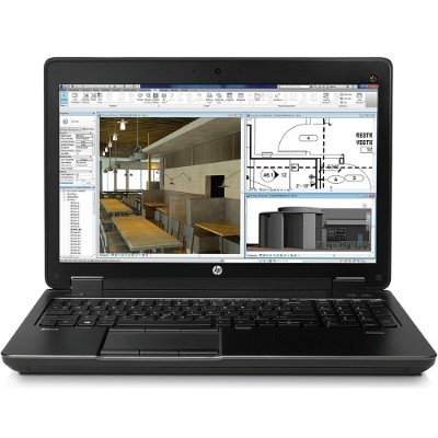HP Smart Buy ZBook 15 G2 Intel Core i7-4810MQ Quad-Core 2.60GHz Mobile Workstation - 16GB RAM, 256GB SSD+1TB HDD, 15.6