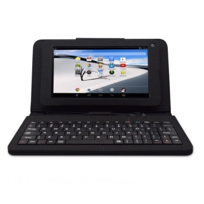 iView 776TPCIII Dual Core Cortex A7 1.50GHz Tablet PC with Leather Case + Keyboard - 512MB RAM, 8GB Flash, 7