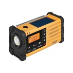 Sangean MR-88 - Weather alert radio - display: 1.75 in - yellow MMR-88