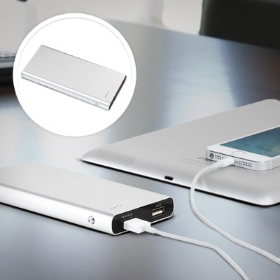 Satechi10000 mAh Premium Aluminum Energy Station Extended Battery Charger Pack for iPhone 5S, 5C, 5, 4S, 4 & 3GS, iPad Air, 1, 2, 3, Mini, ...