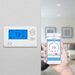 Insteon Thermostat Programmable Remote & Smartphone Controllable 2732-292