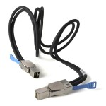 Sans Digital mini-SAS HD to mini SAS HD (SFF-8644 to SFF-8644) Cable CB-SAN-44TO441M