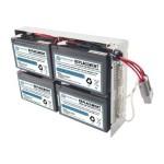 RBC23-SLA23-ER - UPS battery - 1 x lead acid - for P/N: SUA1000R2ICH, SUA1000RMI2U(P), SUA1000RMI2U-3EW, SUA1000RMI2U-3XW, SUA1000RMI2U-5XW
