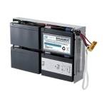RBC24-SLA24-ER - UPS battery - 1 x lead acid - for P/N: DLA1500RM2U, DLA1500RMI2U, SU1400R2IBX135, SUA1500R2X122, SUA1500R2X180, SUA1500R2X93