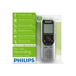 Voice Tracer DVT1200 - Voice recorder - 4 GB - display: 1.3 in - black, dark silver