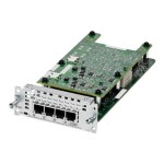 Fourth-Generation Network Interface Module - Voice / fax module - analog ports: 4
