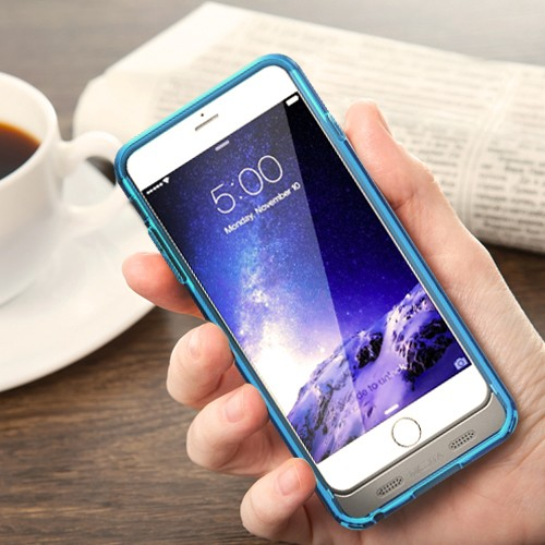 MOTA Extended 4000 mAh Battery Case for iPhone 6 Plus - MFI Certified - Blue