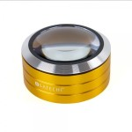 ReadMate LED Desktop Magnifier (Gold)