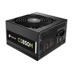 CS Series CS850M - Power supply (internal) - ATX12V 2.4/ EPS12V 2.92 - 80 PLUS Gold - AC 100-240 V - 850 Watt - active PFC - United States