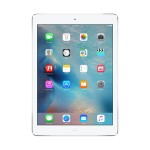Apple iPad Air Wi-Fi 32GB - Silver (iOS 8) with Engraving MD789LL/B