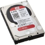 WD Red NAS Hard Drive WD60EFRX - Hard drive - 6 TB - internal - SATA 6Gb/s - buffer: 128 MB