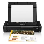 WorkForce WF-100 - Printer - color - ink-jet - A4/Legal - 5760 x 1440 dpi - up to 6.7 ppm (mono) / up to 3.8 ppm (color) - capacity: 20 sheets - USB 2.0, Wi-Fi(n)