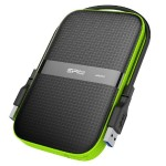 """2TB 2.5"""" Armor A60 Shockproof Water-Resistant USB 3.0 Portable External Hard Drive - Black"""