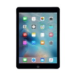 Apple iPad Air Wi-Fi 16GB - Space Gray (iOS 8) with Engraving MD785LL/B