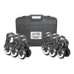 Avid SM-25 - Classroom Pack - headphones - full size ( pack of 12 ) 12CPSM25