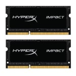 8GB 2133MHz DDR3L CL11 SODIMM (Kit of 2) 1.35V HyperX Impact Black
