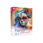 Painter Essentials - (v. 5) - box pack - 1 user - DVD (mini-box) - Win, Mac - English, French