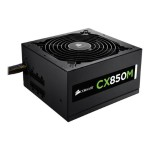 CX850M - Power supply (internal) - ATX12V 2.3/ EPS12V 2.91 - 80 PLUS Bronze - AC 100-240 V - 850 Watt - active PFC - North America - matte black