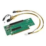 2U Riser - Riser card - for Server Chassis R2000, R2312; Server System R2208, R2224, R2308, R2312