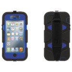 Survivor Case for iPhone 5/5s - Blue/Black