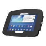 Galaxy Secure Space Enclosure Wall Mount Black. - Wall mount for tablet - aluminum - black - for Samsung Galaxy Tab S (8.4 in)