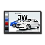 "55"" LED Backlit Touch Integrated Large Screen Display"