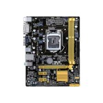 H81M-K - Motherboard - micro ATX - LGA1150 Socket - H81 - USB 3.0 - Gigabit LAN - onboard graphics (CPU required) - HD Audio (8-channel)