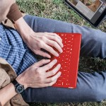 Keys-To-Go Portable Keyboard for iPad/iPad Air/iPad mini/iPhone/Apple TV - Red
