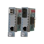 iConverter GX/T2 - Fiber media converter - GigE - 10Base-T, 100Base-TX, 1000Base-T, 1000Base-X - RJ-45 / SC single-mode - up to 12.4 miles - 1550 (TX) / 1310 (RX) nm