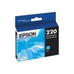 220 - Cyan - original - ink cartridge - for Expression Home XP-220, XP-324; WorkForce WF-2630, WF-2650, WF-2660, WF-2750, WF-2760