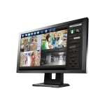 "DuraVision 23"" IP Decoding Monitor with PC-Less Connection to Multiple Cameras and Visibility-Enhancing Technology for Security and Surveillance - Black"