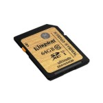 Kingston 256GB SDXC Class 10 UHS-I 90R/45W Flash Card SDA10/256GB
