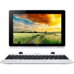 Acer Aspire Switch 10 SW5-012P-11L5 Intel Atom Quad-Core Z3735F 1.33GHz Tablet with Keyboard Dock - 2GB RAM, 64GB eMMC, 10.1 WXGA LED Touchscreen, 802.11a/b/g/n, Bluetooth, 2-cell Li-Polymer, Gray/Silver NT.L6LAA.002