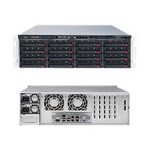 "Super Micro Supermicro SuperStorage Server 6038R-E1CR16N - Server - rack-mountable - 3U - 2-way - RAM 0 MB - SAS - hot-swap 3.5"" - no HDD - AST2400 - GigE, 10 GigE - no OS - monitor: none SSG-6038R-E1CR16N"