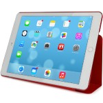 Trio ultra-slim case for iPad Air 2 - Red