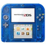 2DS Game System - Crystal Blue
