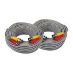 Night Owl - Power/video extension cable - BNC, DC jack (M) to BNC, DC jack - 60 ft