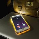 LED Flashing iPhone 6 Case - Gold