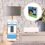 Smart Home Starter Kit with Hub & 2 Light Switch Dimmer Modules - for iOS or Android