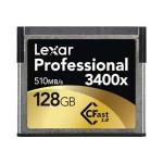 Professional - Flash memory card - 128 GB - 3400x - CFast 2.0