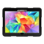 Black Survivor All-Terrain Case with Stand for Galaxy Tab S 10.5
