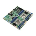 Intel Server Board S2600CW2S - Motherboard - SSI EEB - LGA2011-v3 Socket - 2 CPUs supported - C610 - USB 3.0 - 2 x Gigabit LAN - onboard graphics DBS2600CW2S