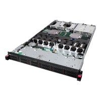 "Lenovo ThinkServer RD550 70CX - Server - rack-mountable - 1U - 2-way - 1 x Xeon E5-2630V3 / 2.4 GHz - RAM 8 GB - SAS - hot-swap 2.5"" - no HDD - AST2400 - no OS - monitor: none - TopSeller 70CX0025UX"