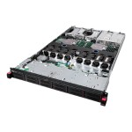 "ThinkServer RD550 70CX - Server - rack-mountable - 1U - 2-way - 1 x Xeon E5-2630V3 / 2.4 GHz - RAM 8 GB - SAS - hot-swap 2.5"" - no HDD - AST2400 - no OS - monitor: none - TopSeller"