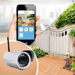 HD Outdoor WiFi Camera - Network surveillance camera - outdoor - waterproof - color (Day&Night) - 1 MP - 1280 x 720 - 720p - fixed focal - audio - wireless - Wi-Fi - LAN 10/100 - H.264 - DC 12 V
