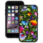Trident Aegis Series Kim Parker Aegis - Back cover for cell phone - polycarbonate - black, India Garden - for Apple iPhone 6
