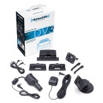 SXDV3 Satellite Radio Vehicle Mounting Kit with Dock and Charging Cable (Black)