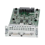 WAN Network Interface Module - Serial adapter - RS-232/449/530/V.35/X.21 x 2