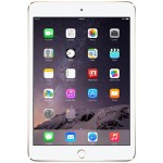 iPad mini 3 Wi-Fi 128GB - Gold (Open Box Product, Limited Availability, No Back Orders)