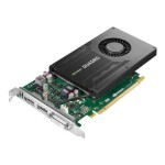 NVIDIA Quadro K2200 - Graphics card - Quadro K2200 - 4 GB GDDR5 - PCIe 2.0 x16 - DVI, 2 x DisplayPort - for ThinkStation P300 30AH; P310 (tower); P500; P510; P700; P710 30B6, 30B7; P900; P910 30B8